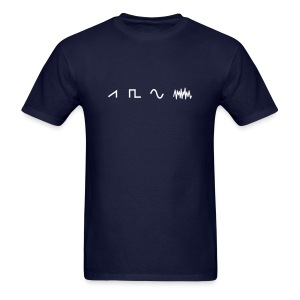 Waveforms - Men's T-Shirt