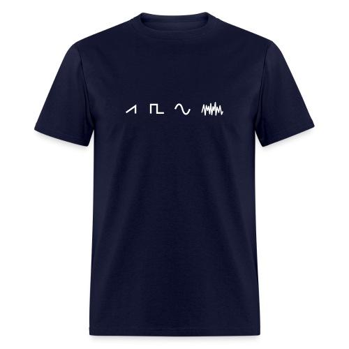 Waveforms - Men's T-Shirt