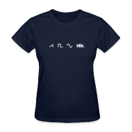 T-Shirts ~ Women's T-Shirt ~ Waveform