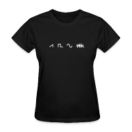T-Shirts ~ Women's T-Shirt ~ Waveforms