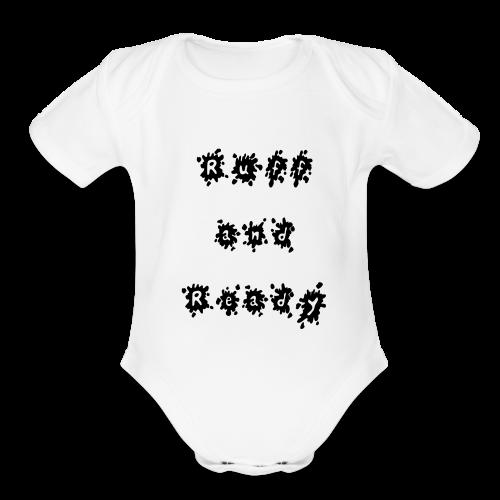 Ruff and Ready - Organic Short Sleeve Baby Bodysuit