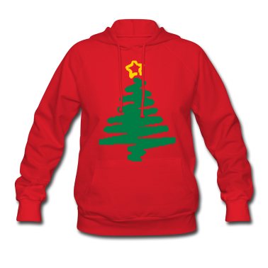 christmas_tree_with_star3 Hoodies