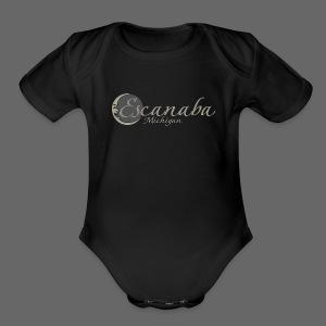 Escanaba, Mi - Short Sleeve Baby Bodysuit