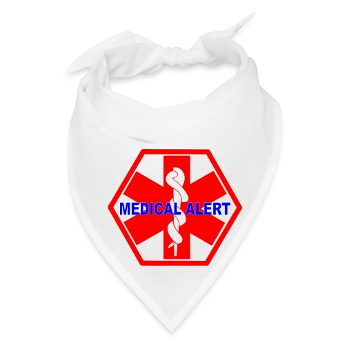 MEDICAL ALERT HEALTH IDENTIFICATION SIGN - Bandana