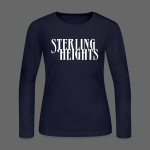 Sterling Heights, Mi - Women's Long Sleeve Jersey T-Shirt