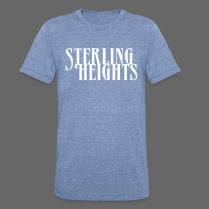 Sterling Heights, Mi - Unisex Tri-Blend T-Shirt by American Apparel