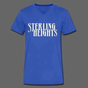 Sterling Heights, Mi - Men's V-Neck T-Shirt by Canvas