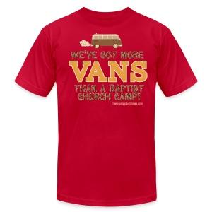 Van - Baptist Camp - Men's Fine Jersey T-Shirt