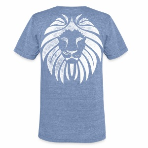 Tribe Of Judah Lion - Unisex Tri-Blend T-Shirt by American Apparel