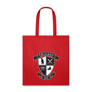 A Chicago Crest - Tote Bag