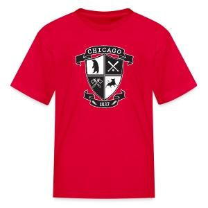 A Chicago Crest - Kids' T-Shirt
