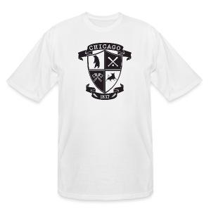A Chicago Crest - Men's Tall T-Shirt