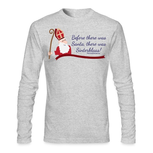 Before Santa - Men's Long Sleeve T-Shirt by Next Level