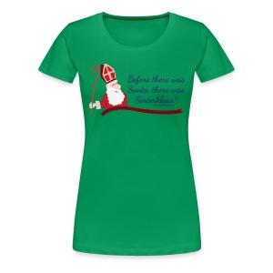 Before Santa - Women's Premium T-Shirt