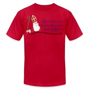 Before Santa - Men's Fine Jersey T-Shirt