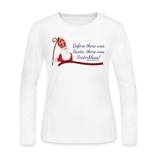 Before Santa - Women's Long Sleeve Jersey T-Shirt