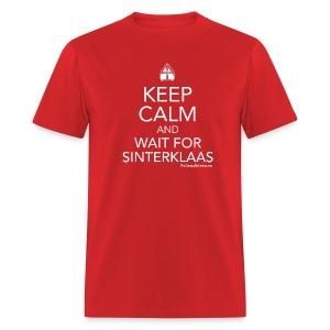 Keep Calm - Sinterklaas (white) - Men's T-Shirt