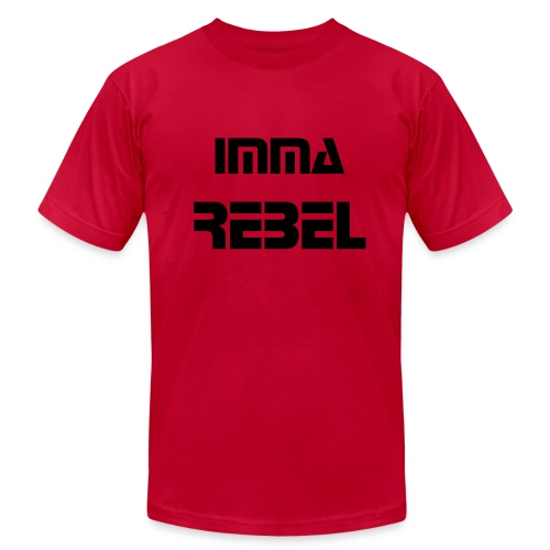 Men's Imma Rebel Shirt RED - Men's Fine Jersey T-Shirt
