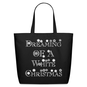 Dreaming of a White Christmas - Eco-Friendly Cotton Tote