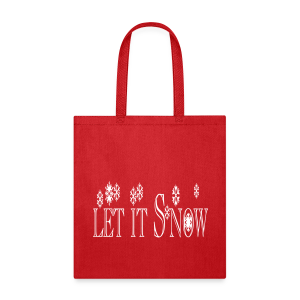 Let it Snow - Tote Bag