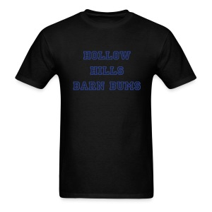 Barn bum in blue and black - Men's T-Shirt