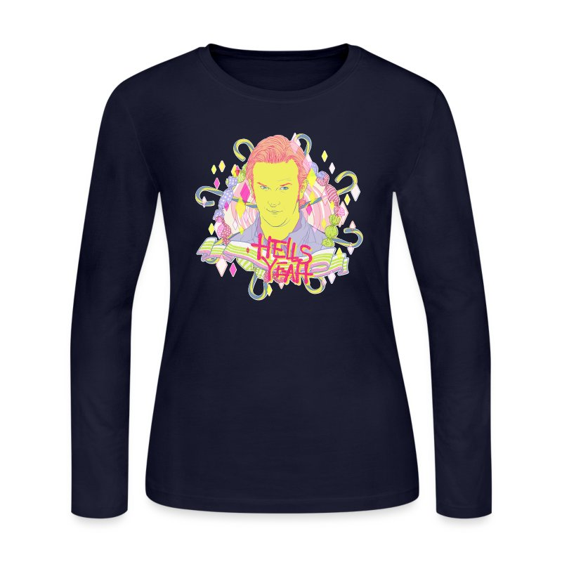 Hells Yeah - Women's Long Sleeve Jersey T-Shirt