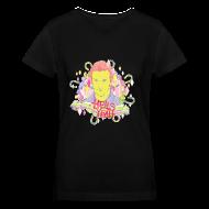 Women's T-Shirts ~ Women's V-Neck T-Shirt ~ Hells Yeah