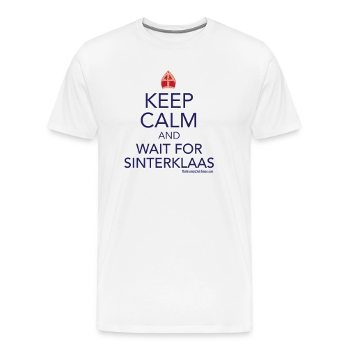 Keep Calm - Sinterklaas - Men's Premium T-Shirt