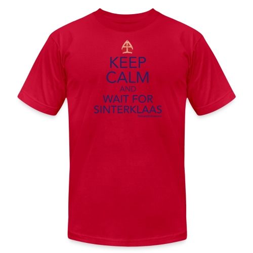 Keep Calm - Sinterklaas - Men's Fine Jersey T-Shirt