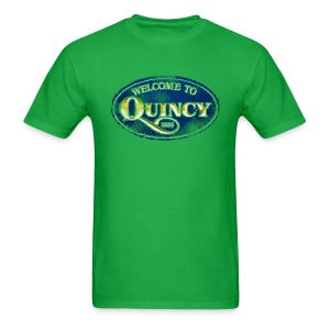 Quincy, Mass - Men's T-Shirt