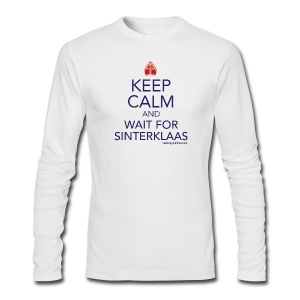 Keep Calm - Sinterklaas - Men's Long Sleeve T-Shirt by Next Level