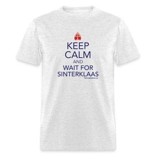 Keep Calm - Sinterklaas - Men's T-Shirt