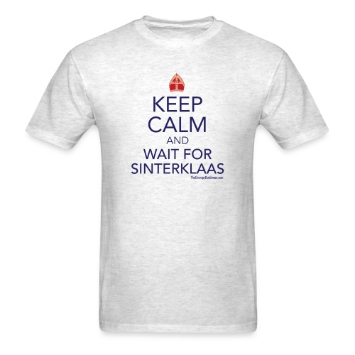 Keep Calm - Sinterklaas - Men's T-Shirt