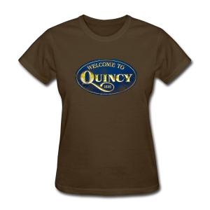 Quincy, Mass - Women's T-Shirt