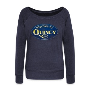 Quincy, Mass - Women's Wideneck Sweatshirt