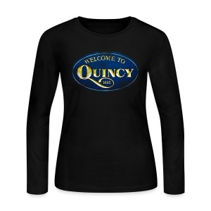 Quincy, Mass - Women's Long Sleeve Jersey T-Shirt