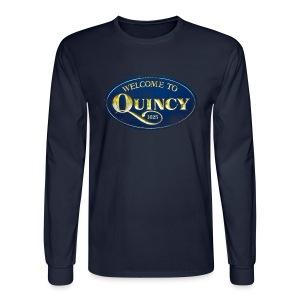 Quincy, Mass - Men's Long Sleeve T-Shirt