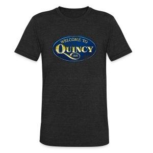 Quincy, Mass - Unisex Tri-Blend T-Shirt