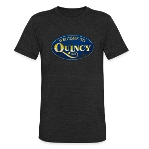 Quincy, Mass - Unisex Tri-Blend T-Shirt by American Apparel