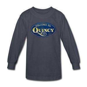 Quincy, Mass - Kids' Long Sleeve T-Shirt