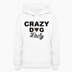 Dog Lady Hoodies
