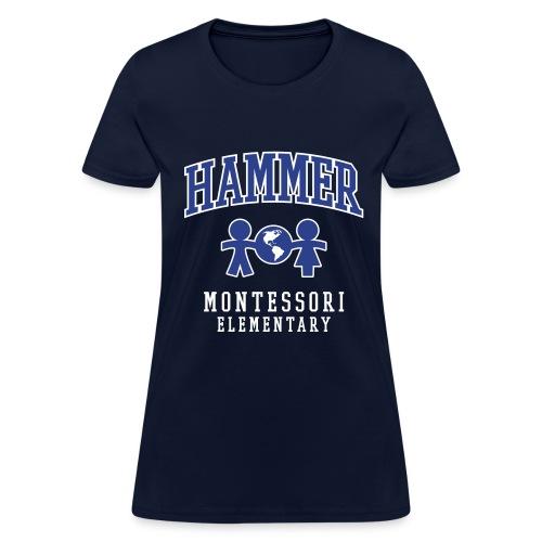 Women's T-shirt (Royal Blue Logo) - Women's T-Shirt