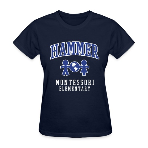 Women's T-shirt (Royal Blue Logo) - Women's T-Shirt