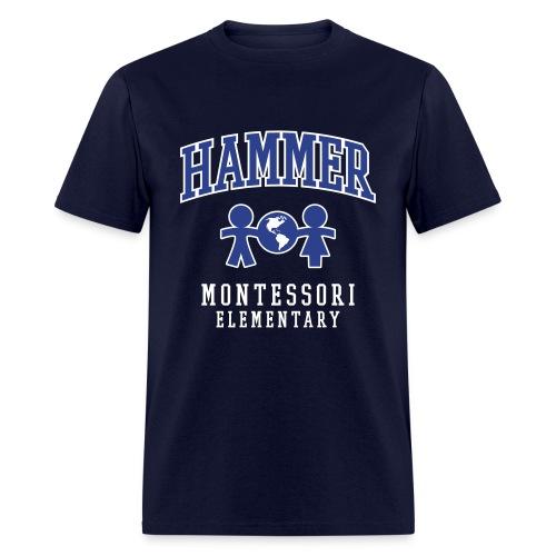 Men's T-shirt (Royal Blue Logo) - Men's T-Shirt