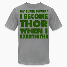 Super Power: Thor T-Shirts
