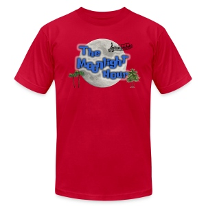 The Moonlight Hour - Men's T-Shirt by American Apparel
