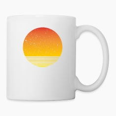 Sunshine Moonshine Sunrise Bottles & Mugs