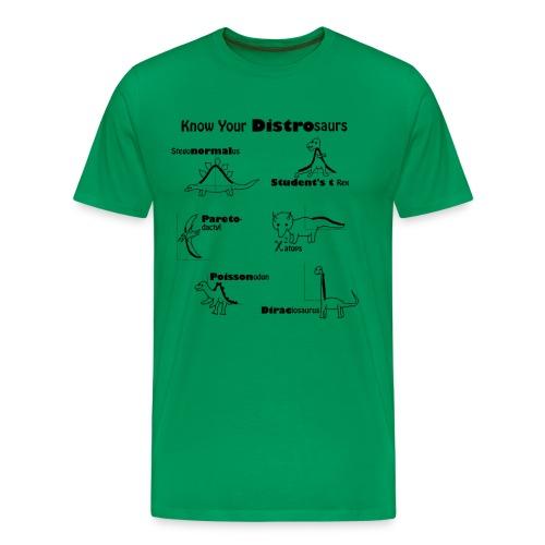 Know Your Distrosaurs -- Tee - Men's Premium T-Shirt