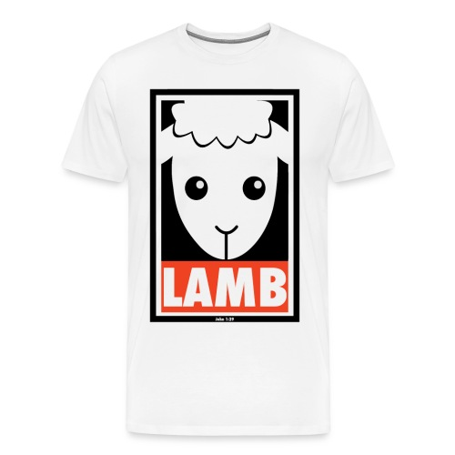 Lamb - Men's Premium T-Shirt