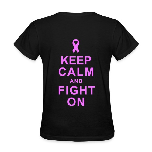 Ladies Breast Cancer T-Shirt - Women's T-Shirt